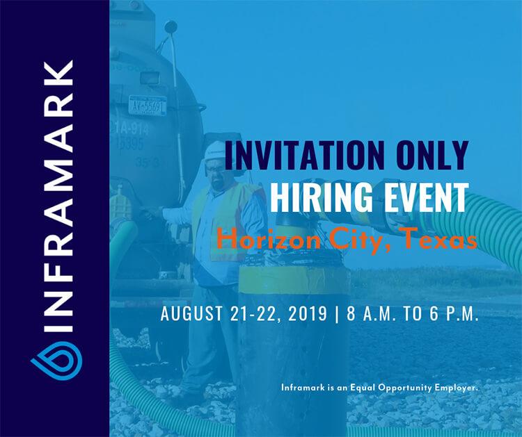 Inframark Hiring Event